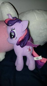 Twilight Sparkle plush by 8ClockworkPurple8