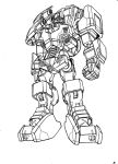 TF Cybertronians Captain Optimus robot mode sketch by shatteredglasscomic