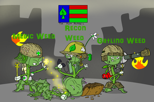 The Plant Republic's Weeds of War by Nyanbonecrush