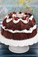 Chocolate and cherry cake by kupenska