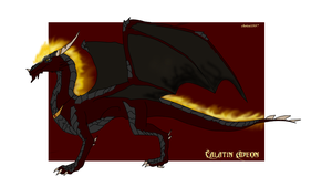 Calatin- The Fire Guardian by chrissi1997