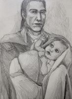 Haytham and his son by IrQQ