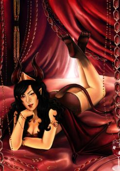 CE- Noshi the Succubus Princess of the Lost Abyss by Lilith-the-5th