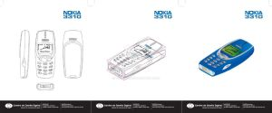 Nokia 3310 vector by Tomoe21
