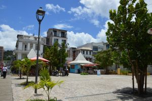 Street and building to Fort De France 4 by A1Z2E3R