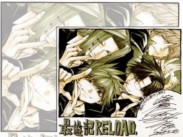 Saiyuki reload by blue-a-dream