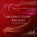 Abstract Flow Brushes by differentxdreamz
