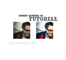 Icon Tutorial feat. RDJ No.2 by PePPerDoG