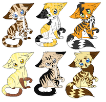 cat adoptables by leafstep