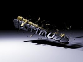 Abstract 3D Text Render by ScottMU