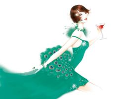 fashion illustration 8 by BreeLeman