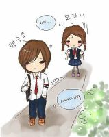 Playful Kiss by LepaR