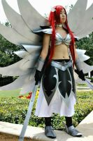 Fairy Tail: Armor Mage by xXSnowFrostXx
