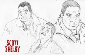 Scott Shelby Sketches by McCloy