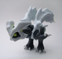 Kyurem Sculpture by caffwin
