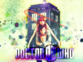 Doctor Who Wallpaper II. by Gem88
