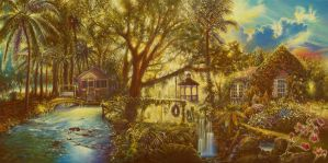 Florida Scene II by Tolkyes