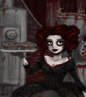 Mrs. Lovett's Bake House by achikun