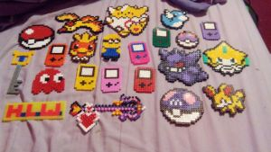 Updated hama beads by Pika94