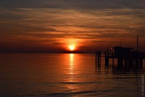 Dusk Bodensee by JayCob2409