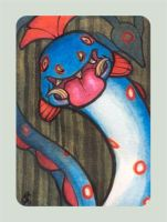 Huntail ACEO by Mamath