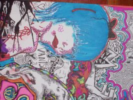 Blue Haired Freak by HybridMoments77