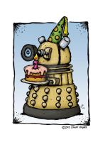 Happy Birthday Dr Who by stuartmcghee