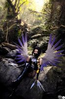Karasutengu_ZONE-00 by AMPLE-COSPLAY