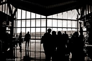 Arizona airport by Apeanutbutterfiend
