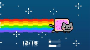 Nyan Cat Theme (Two Monitors) by Dieterke007