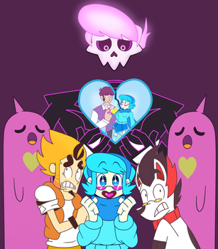 Mystery Skulls- Ghost by GenerallyUnamused