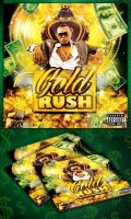 Free Gold Rush Mixtape CD Cover Template by MadFatSkillz