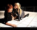 Death Note: Glomp by BlackMageAlodia