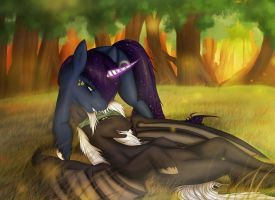 If You Fall, I Shall Help You Rise -MLP Commission by LTN01