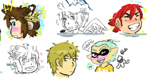 Iscribble Doodles by moliupok