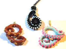 Tentacle Necklaces by octapuu