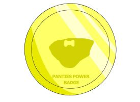 Panties Power Badge by RyuPointGame
