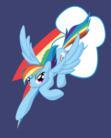 Rainbolt Dash by Zedrin