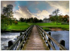 Tranquil Walkway by james-dolan