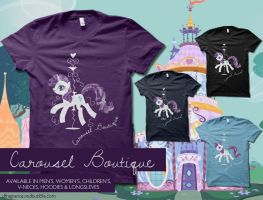 Rarity's Carousel Boutique by digitalfragrance
