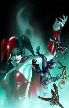 Suicide Squad 6 cover by PaulRenaud