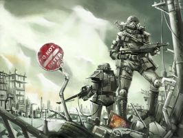fallout by yosio7500