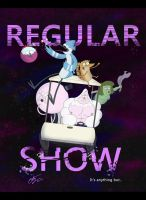 Regular show poster by WheatleysOWN