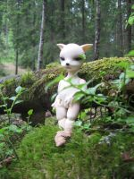 In the Woods I by nineveh-resin-family