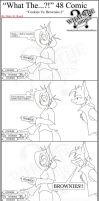 'What The' Comic 48 by TomBoy-Comics