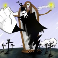 Soul Eater Shinigami by xenocracy