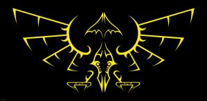 Tribal Hylian Symbol by Sharindan-dragon
