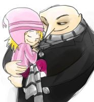 Despicable Me - Edith and Daddy by jameson9101322