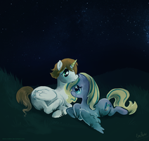 A night with you by Endber