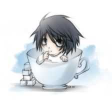 L in a Cup by crophecy